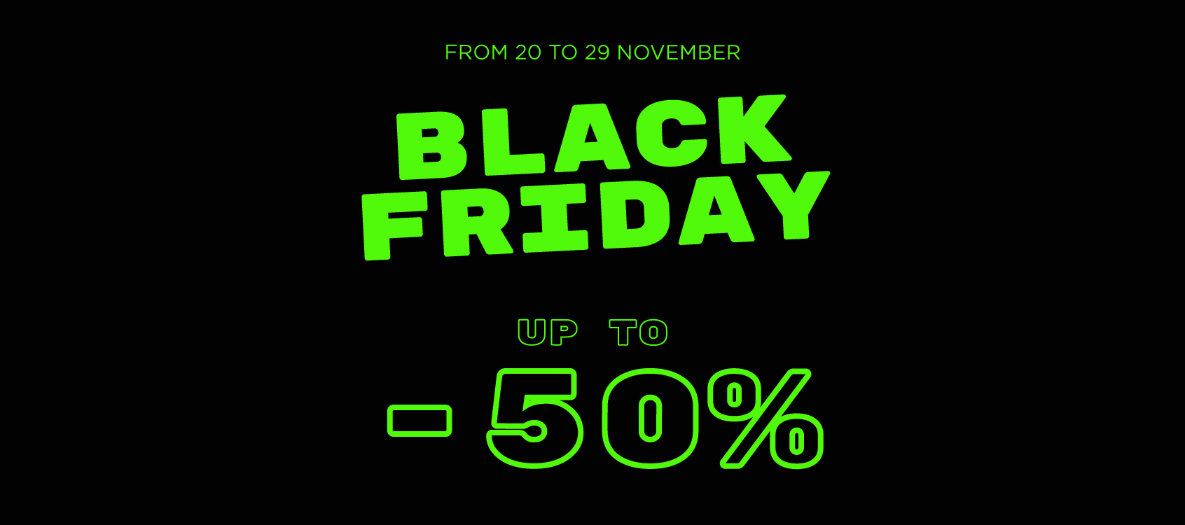 black friday 50
