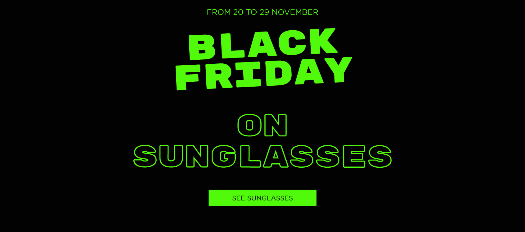black friday gafas